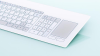Glass Keyboard with Touch Pad -- TKR-094-TOUCH-ADH-USB - Image