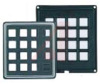 Keypad; 4 x 4; Flange; 3 in.; 24 VDC; 10 Ohms (Max.); ABS Polycarbonate; Black -- 70216617