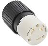 30A Electrical Connector: locking, 480VAC, NEMA L8-30 -- 70830NC