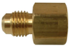 Brass Flare to Female Flare Gas Range Fitting -- No. 61-FRGF