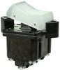 TP Series Rocker Switch, 4 pole, 2 position, Screw terminal, Flush Panel Mounting -- 4TP201-3 -Image