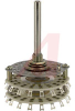 Switch, Miniature INDEX ASSEMBLIES,NON-SHORTING,2 POLES, 2-17 POS, 2 SECTIONS -- 70152462