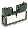 Solenoid Air Valve,4-Way,2-Pos,Plug In -- 3FFX6