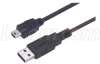 Premium USB Cable Type A - Mini B 5 Position, 1.0m -- CSMUAMB5-1M