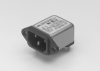 Power Entry Module Right Angle -- 60-BPF-010-5-4