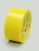 3M Scotch 371 Box Sealing Tape Yellow 48 mm x 100 m Roll -- 371 YELLOW 48MM X 100M - Image