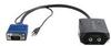 Compact VGA Splitter + 3.5mm Audio -- 29588