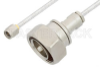 SMA Male to 7/16 DIN Male Cable 24 Inch Length Using PE-SR402FL Coax -- PE36173-24 -Image