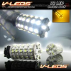 6K WHITE AMBER DUAL COLOR CK TYPE 2 CHANGING SWITCHBACK 92 LED TURN SIGNAL BULBS 3157 3157NA 3357 3457 4157 4057 | 1 PAIR -- 3157_92_WA2_CK_6K