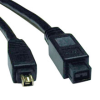FireWire 800 IEEE 1394b Hi-speed Cable (9pin/4pin) 10-ft. -- F019-010 - Image