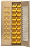 Heavy-Duty All-Welded Storage Cabinets -  - MESH-BG-240 - Image
