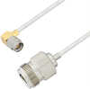 N Female to SMA Male Right Angle Cable Assembly using LC085TB Coax, 10 FT -- LCCA30545-FT10 -Image