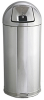 Metallics Tall Dome Top Waste Container -- GPR434