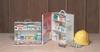 First Aid Cabinet,Filled,2 Shelf,Constr -- 3JML5