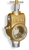 """Universal Sight Feed Valve, 1/2"""" Female NPT Inlet, 3/4"""" Male NPT Outlet, T-Handle -- B2501-4 -Image"""