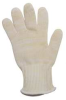 Heat Resistant Glove,Yellow/White, L -- 1ZPP3