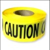 North Barricade Tape (CAUTION)-CTYE1/300 - Image