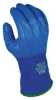 Coated Gloves,M,Blue,Polyurethane,PR -- 18F246