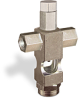 "(Formerly B1629-1X03), Cross Small Sight Feed Valve, 1/8"" Female NPT Inlet, 1/8"" Female NPT Outlet, Tamperproof -- B1628-211B1TW -- View Larger Image"