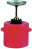 2 Quart Poly Safety Plunger Can -- CAN124
