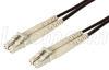 62.5/125, Military Fiber Cable, Dual LC / Dual LC, 1.0m -- FODLCMIL-01