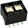 DIP Switches -- 204-122S-ND - Image