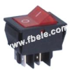 Double-poles Rocker Switch -- IRS-201-2B ON-OFF - Image