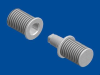 FPM Standard Screw-in-Pin -- 1070-1 H/P