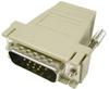 15 Pin Male RJ45 D-Sub Modular Adapter -- 85-237 - Image