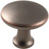 Modern Knob, Oil Rubbed Bronze -- 814520