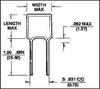 CAPACITOR CERAMIC, 470PF, RADIAL -- 20F1420