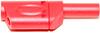 Shrouded, Stackable 4mm Banana Plug -- BU-31104-@