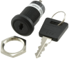 Keylock Switches -- CKM12BFW01-005-ND