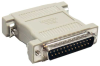 DB25 M/M Null Modem Adapter -- 30D3-B1