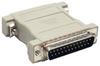 DB25 M/M Null Modem Adapter -- 30D3-B1 - Image
