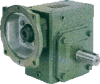 Casting Iron Worm reducers Inch Dimension -- Series QY
