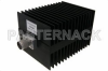 High Power 100 Watt RF Load Up to 4 GHz With N Male Input Square Body Black Anodized Aluminum Heatsink -- PE6168 -Image
