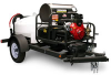 Shark Commercial 3000 PSI Trailer Pressure Washer -- Model TRS-2500-E