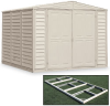 DURAMAX DuraMate Vinyl Storage Sheds with Foundation Kit -- 2902700 - Image