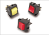 Miniature Rocker Switch : Super Curvette -- LRGSC Series - Image