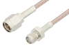 SMA Male to SMA Female Cable 60 Inch Length Using RG316 Coax -- PE3832-60 -Image