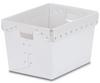 Natural Corrugated Plastic Nesting Tote - 18-1/4