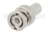 1 Watt RF Load Up to 1,000 MHz with 75 Ohm BNC Male Nickel Plated Brass -- PE6165 -Image