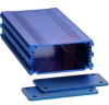 ALUMINUM ENCLOSURE, 2 PLATES, 8 SCREWS,BLUE ANODIZED, 1.188 H X 2.5 W X 4.72 L -- 70020238