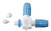 Column bleed valve, PTFE, for 1 to 4 mm OD tubing -- EW-06473-23
