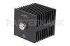 50 Watt RF Load Up To 18 GHz With SMA Female Input Square Body Black Anodized Aluminum Heatsink -- PE6212 -Image