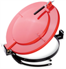 PIG Latching Lid for Fiber Drum Red For Fiber Drums, For 55 gal., Fast Connecting Latching & Locking Drum Lids DRM1199-RD -- DRM1199