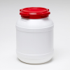 26 Liter Wide Neck Plastic Drum -- 7026 - Image
