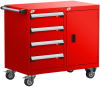 Mobile Compact Cabinet with Partitions -- L3BED-2823B -Image
