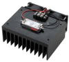 1 Watt P1dB, 500 MHz to 4 GHz, Medium Power Amplifier with Heatsink, SMA, 30 dB Gain, 6 dB NF -- PE15A4053F -Image